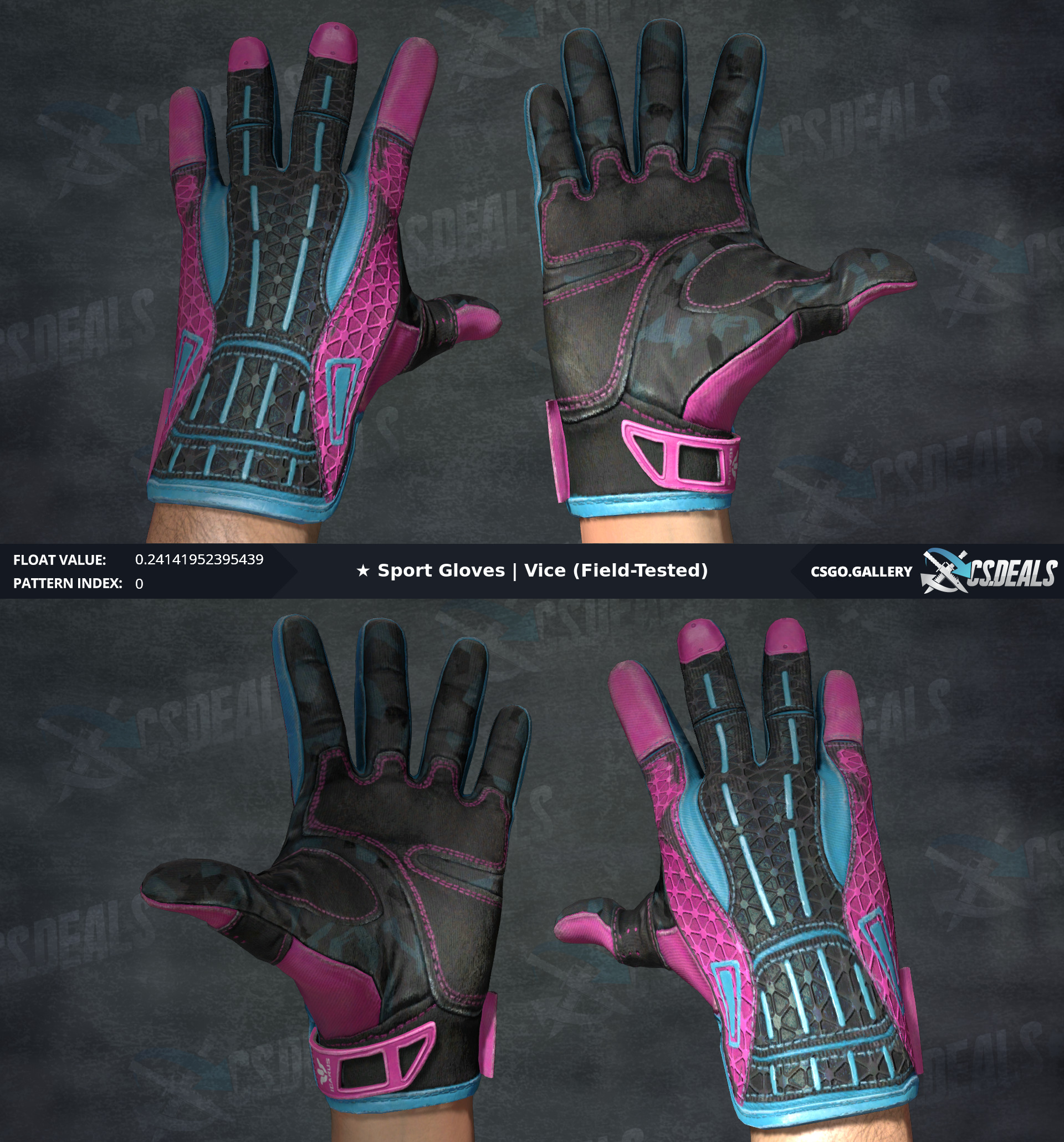 Sport Gloves Vice Opskins: [Store] Bitskins Store: Low Floats, Special Patterns And