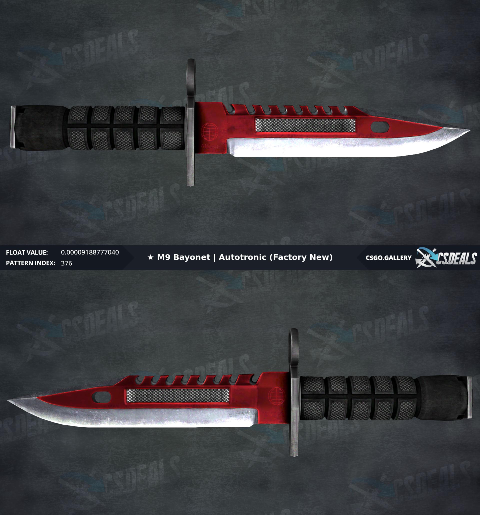 PC] #1 Float M9 Bayonet | Autotronic 0 000091888 Whats it