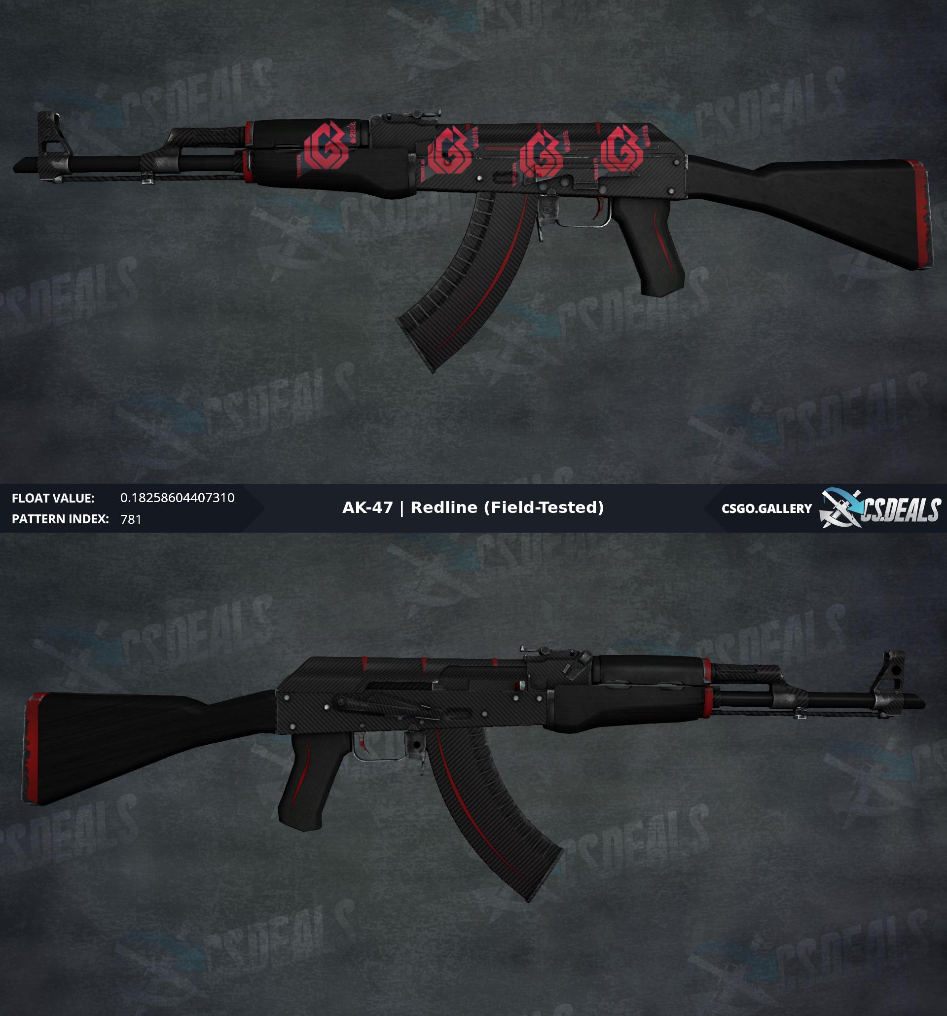 Ak 47 Redline >> Pc Ak 47 Redline Ft 0 182 W 4x Lgb Kato 2015 And Name Tag